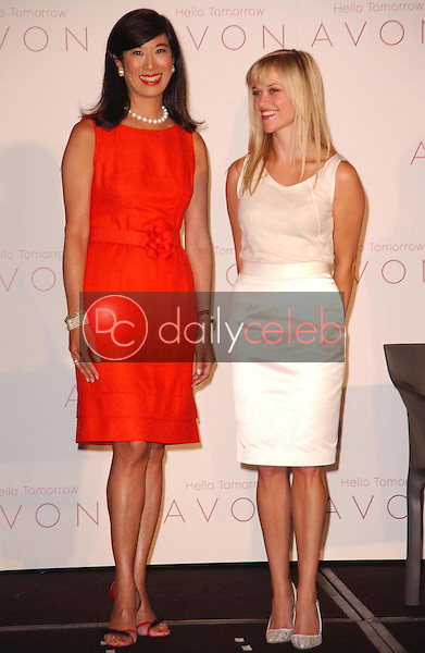 Andrea Jung and Reese Witherspoon<br />at the press conference introducing Reese Witherspoon as the first ever AVON Global Ambassador. Beverly Wilshire Hotel, Beverly Hills, CA. 08-01-07<br />Dave Edwards/DailyCeleb.com 818-249-4998