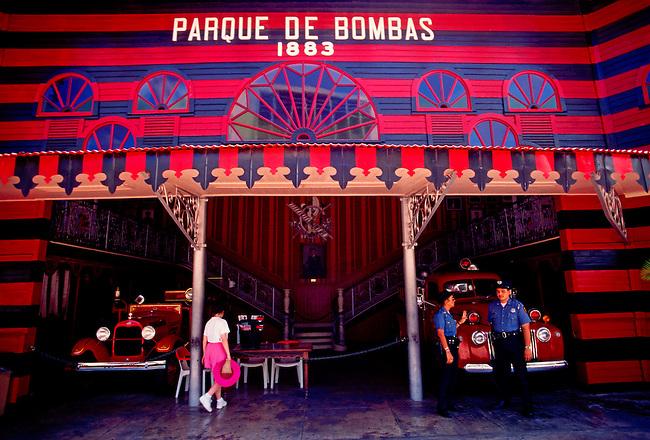 Parque de Bombas (firehouse), Plaza de las Delicias, Ponce, Puerto Rico, West Indies