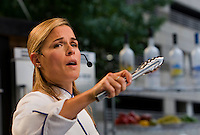 Iron Chef America star Cat Cora wowed the crowds during the 2008 Charlotte Shout culinary festival in downtown Charlotte, NC. Shout is a month-long celebration of art, culture, entertainment and culinary excellence.