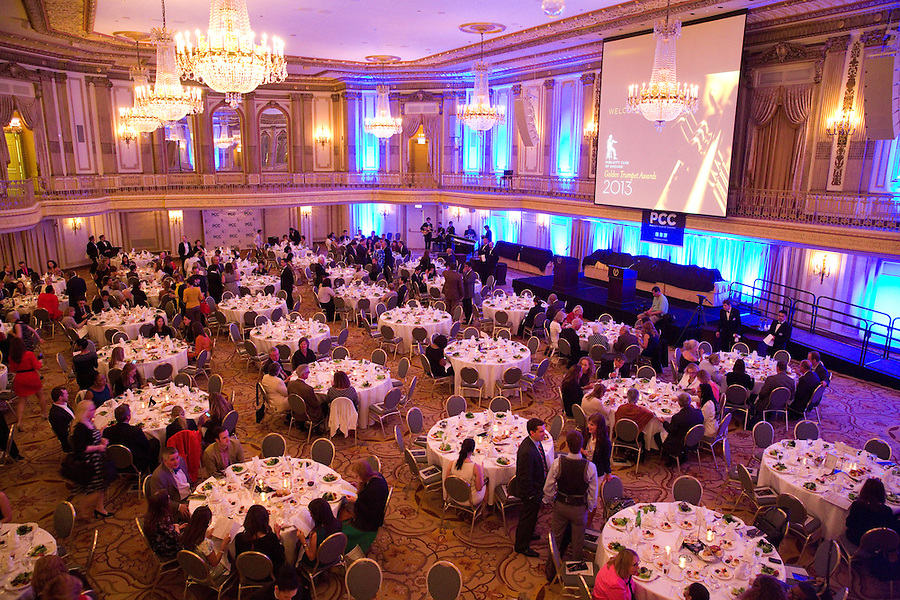 The Publicity Club of Chicago recognized the region's best strategic communications work done in 2012 at the Golden Trumpet Awards dinner at the Palmer House in downtown Chicago on Monday, June 10, 2013. Christie Hefner delivered the keynote speech. [Photo by The Kring Group]