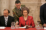 Queen Sofia of Spain during 'XXIV Reina Sofia Iberoamerican Poetry Award'. November 18, 2015. (ALTERPHOTOS/Acero)