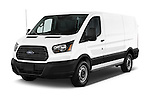 2015 Ford Transit 150 Van 2 Door  Angular Front stock photos of front three quarter view