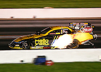Sep 3, 2016; Clermont, IN, USA; NHRA funny car driver Del Worsham during qualifying for the US Nationals at Lucas Oil Raceway. Mandatory Credit: Mark J. Rebilas-USA TODAY Sports