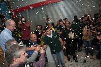 PIRACICABA, 29.04.14 - INAUGURAÇÃO SHOPPING CENTER PIRACICABA - Desseramento da faixa inaugural.(Foto: Mauricio Bento / Brazil Photo Press )