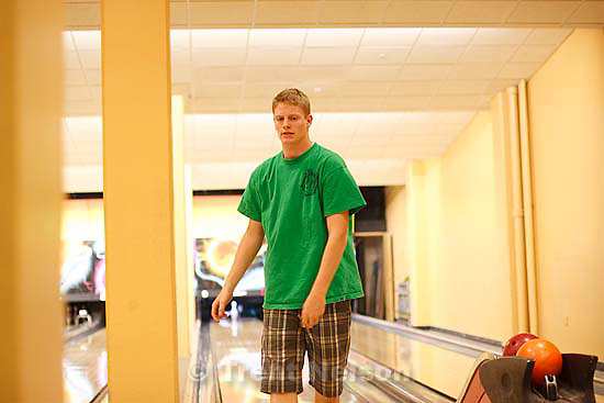 bowling at Chandler's birthday party, University of Utah..Thursday April 30, 2009 in Salt Lake City. todd rimmasch