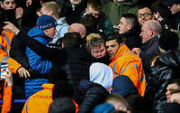 Bolton Wanderers fans protest during the match<br /> <br /> Photographer Alex Dodd/CameraSport<br /> <br /> The EFL Sky Bet Championship - Bolton Wanderers v West Bromwich Albion - Monday 21st January 2019 - University of Bolton Stadium - Bolton<br /> <br /> World Copyright © 2019 CameraSport. All rights reserved. 43 Linden Ave. Countesthorpe. Leicester. England. LE8 5PG - Tel: +44 (0) 116 277 4147 - admin@camerasport.com - www.camerasport.com