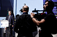 Paolo Gentiloni<br /> Roma 08/06/2017. Complesso militare ex CERIMANT. Convegno 'Futuro Periferie. La cultura rigenera'.<br /> Rome June 8th 2017. Military complex ex Cerimant Factory. Convention about the future of suburbs.<br /> Foto Samantha Zucchi Insidefoto