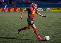 Rochester, NY - May 21, 2016: Western New York Flash forward Adriana Leon (19) during a National Women's Soccer League (NWSL) match at Sahlen's Stadium. The Western New York Flash go on to win 5-2.