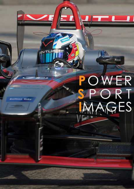 Maro Engel of Germany from Venturi Formula E Team competes during the FIA Formula E Hong Kong E-Prix Round 2 at the Central Harbourfront Circuit on 03 December 2017 in Hong Kong, Hong Kong. Photo by Victor Fraile / Power Sport Images
