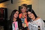 Katie Waters, Amy Bermingham and Kirsty Garyland.in McPhails.Picture: Fran Caffrey / www.newsfile.ie ..