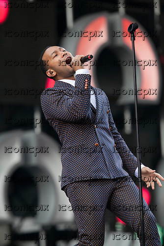 John Legend - performing live at the Sound of Change Live concert held at Twickenham Stadium, Surrey UK - 01 Jun 2013.  Photo credit: John Rahim/Music Pics Ltd/IconicPix