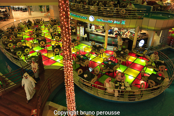 Asie; Golfe Persique; Moyen Orient; Emirats Arabes Unis; Abu Dhabi; centre commercial  Marina mall//Asia; Persian Gulf; Middle East; United Arab Emirates; Abu Dhabi; Marina shopping mall