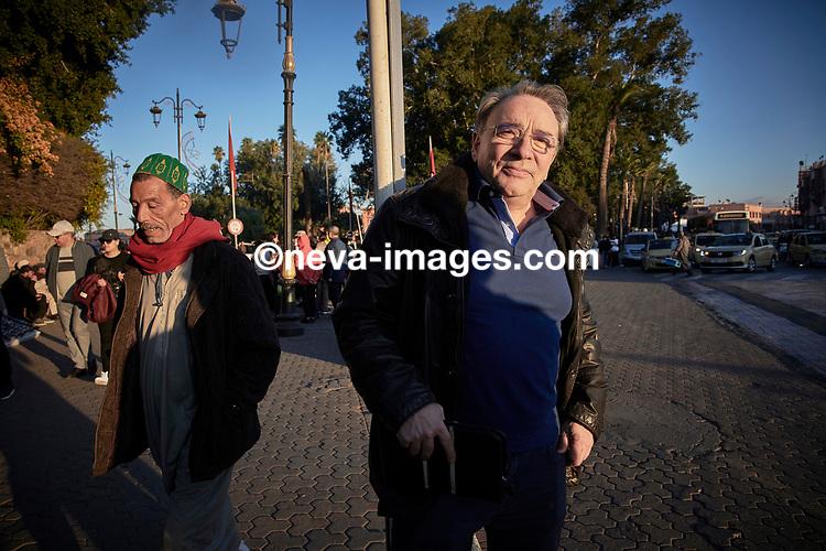 Rabat, Marrakech, du 9 au 12 janvier 2019, Alex Baur journaliste d'investigation à la Weltwoche © sedrik nemeth