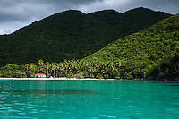 Maho Bay from the water<br />