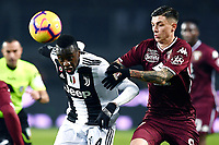 Blaise Matuidi, Daniele Baselli <br /> Torino 15-12-2018 Stadio Olimpico Football Calcio Serie A 2018/2019 Torino - Juventus <br /> Foto Image Sport / Insidefoto