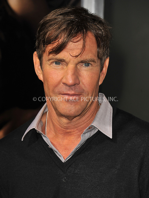 WWW.ACEPIXS.COM....September 4 2012, LA....Dennis Quaid arriving at the Premiere Of CBS Films' 'The Words' at the ArcLight Cinemas on September 4, 2012 in Hollywood, California.......By Line: Peter West/ACE Pictures......ACE Pictures, Inc...tel: 646 769 0430..Email: info@acepixs.com..www.acepixs.com