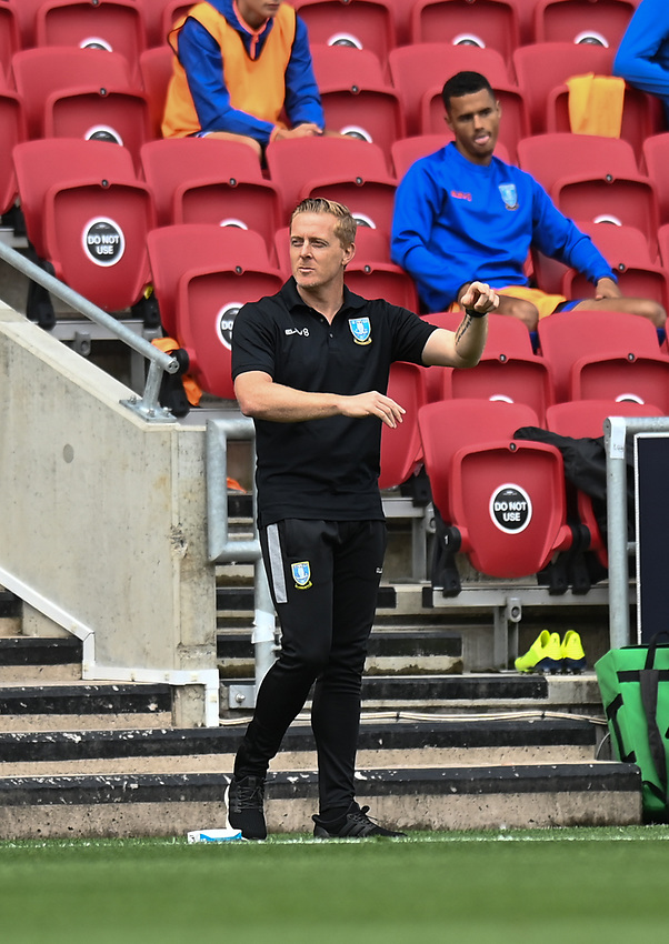 Sheffield Wednesday's manager  Garry Monk<br /> <br /> Photographer David Horton/CameraSport<br /> <br /> The EFL Sky Bet Championship - Bristol City v Sheffield Wednesday - Sunday 28th June 2020 - Ashton Gate Stadium - Bristol <br /> <br /> World Copyright © 2020 CameraSport. All rights reserved. 43 Linden Ave. Countesthorpe. Leicester. England. LE8 5PG - Tel: +44 (0) 116 277 4147 - admin@camerasport.com - www.camerasport.com