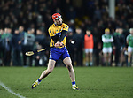 Clare's Niall Deasy fails to point his sudden death shot during their NHL quarter final free taking shootout against Limerick at the Gaelic Grounds. Photograph by John Kelly.