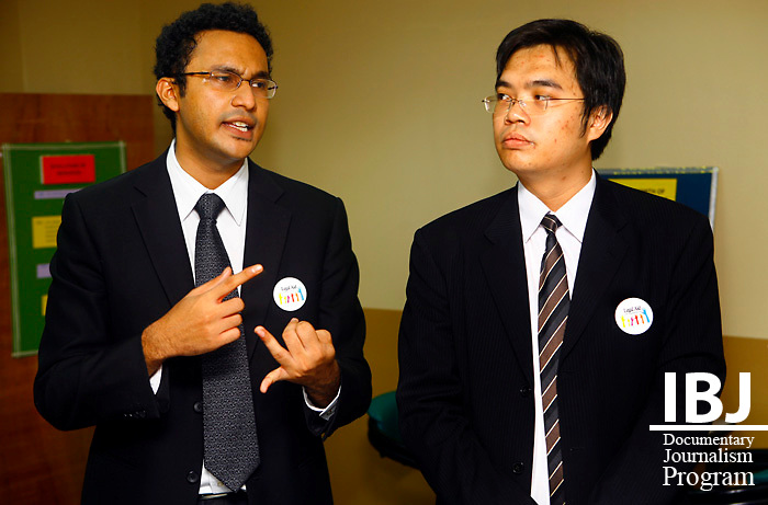Two young Lawyer working with Legal Aid