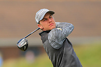Soren Broholt Lind (DEN) on the 5th tee during Round 1 of the The Amateur Championship 2019 at The Island Golf Club, Co. Dublin on Monday 17th June 2019.<br /> Picture:  Thos Caffrey / Golffile<br /> <br /> All photo usage must carry mandatory copyright credit (© Golffile | Thos Caffrey)