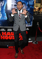 """LOS ANGELES, CA, USA - APRIL 16: Affion Crockett at the Los Angeles Premiere Of Open Road Films' """"A Haunted House 2"""" held at Regal Cinemas L.A. Live on April 16, 2014 in Los Angeles, California, United States. (Photo by Xavier Collin/Celebrity Monitor)"""