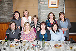 40th celebrations, Mairead Teehan celebrated her 40th birthday with friends in Chin Fong Chinese restaurant on Saturday night last pictured here front l-r; Breda Barry, Mairead Teehan, Sheila & Maureen Teehan, back l-r; Ann McGillicuddy, Eileen O'Connor, Joan Orme, Breda Moran & Ann Monaghan.