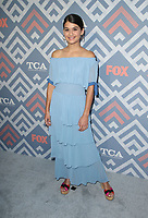 WEST HOLLYWOOD, CA - AUGUST 8: Sofia Black-D'Elia, at 2017 Summer TCA Tour - Fox at Soho House in West Hollywood, California on August 8, 2017. <br /> CAP/MPI/FS<br /> &copy;FS/MPI/Capital Pictures