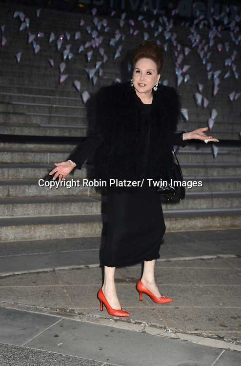 Cindy Adams attends the Vanity Fair Party for the 2013 Tribeca Film Festival on April 16, 2013 at State Suprme Courthouse in New York City.