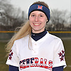 Ashley Budrewicz #4, MacArthur catcher, poses for a portrait before a non-league varsity softball game against Massapequa at MacArthur High School on Tuesday, March 20, 2018.