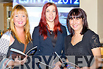 FESTIVAL: In conjuction with the Culture Trail, Tralee on Friday evening the launch opf the film festival took place in the Brandon Hotel, Tralee, L-r: Dee Collier, Evija Andriksone and Mandy Murray.