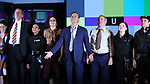 "Bryan Cranston and cast during the Broadway Opening Night Performance Curtain Call for ""Network"" at the Belasco Theatre on December 6, 2018 in New York City."