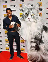 Gavin Ramjaun<br /> Cats Protection's National Cat Awards, held by the Cats Protection celebrating feline tales of courage, promote benefits of cat adoption. The Savoy Hotel, London, England on August 02, 2018.<br /> CAP/JOR<br /> &copy;JOR/Capital Pictures