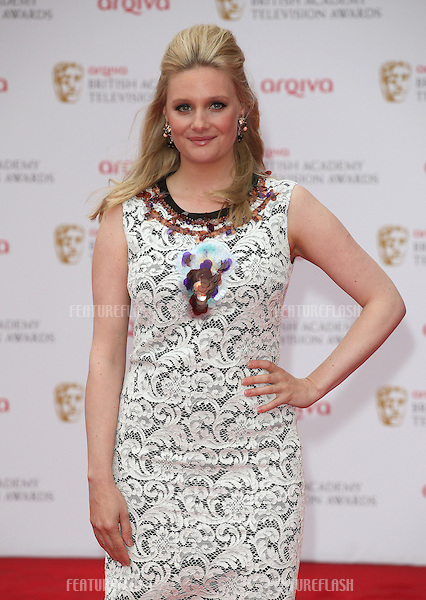 Romola Garai arriving for the TV BAFTA Awards 2013, Royal Festival Hall, London. 12/05/2013 Picture by: Alexandra Glen / Featureflash