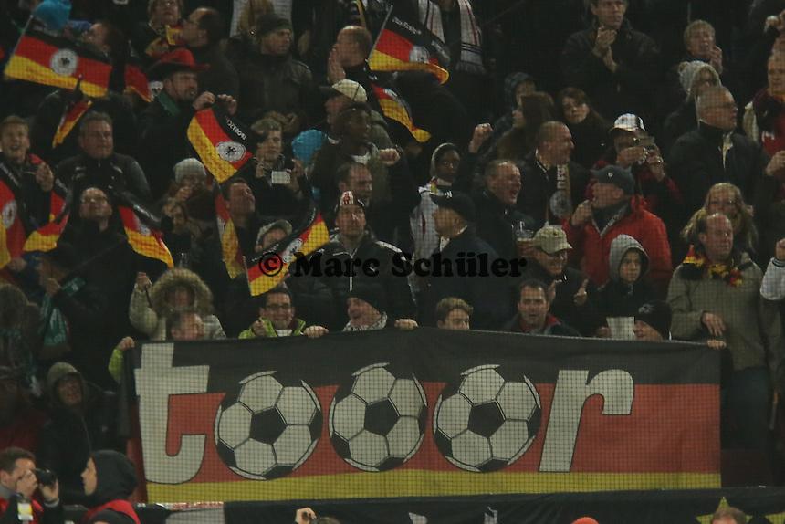Torjubel  beim 2:0 - WM Qualifikation 9. Spieltag Deutschland vs. Irland in Köln