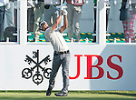 Thanyakon Khrongpha of Thailand tees off the first hole during the 58th UBS Hong Kong Golf Open as part of the European Tour on 10 December 2016, at the Hong Kong Golf Club, Fanling, Hong Kong, China. Photo by Marcio Rodrigo Machado / Power Sport Images