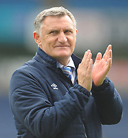 Blackburn Rovers manager Tony Mowbray <br /> <br /> Photographer Kevin Barnes/CameraSport<br /> <br /> The EFL Sky Bet Championship - Blackburn Rovers v Swansea City - Sunday 5th May 2019 - Ewood Park - Blackburn<br /> <br /> World Copyright © 2019 CameraSport. All rights reserved. 43 Linden Ave. Countesthorpe. Leicester. England. LE8 5PG - Tel: +44 (0) 116 277 4147 - admin@camerasport.com - www.camerasport.com