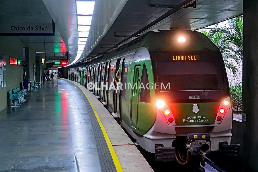 Passageiros do Metro, Fortaleza, Ceara. 2018. Foto © Juca Martins