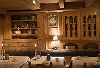 Europe/France/Rhone-Alpes/74/Haute-Savoie/Megève: Restaurant :Le Fer à Cheval