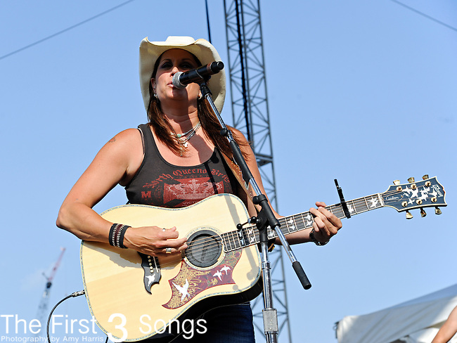 Terri Clark performs at LP Field during the 2011 CMA Music Festival on June 12, 2011 in Nashville, Tennessee.