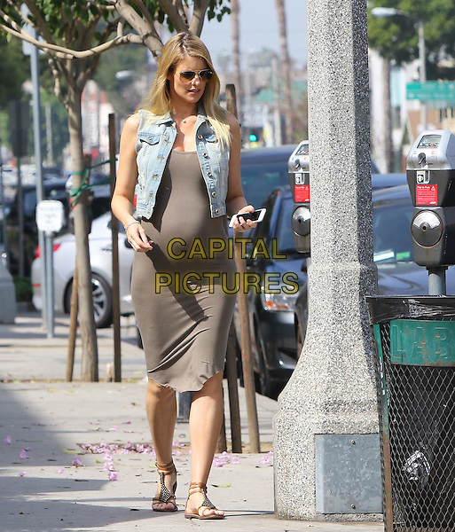 STUDIO CITY, CA - MARCH 2: Paige Butcher taking a walk after getting coffee in Studio City, California on March 2, 2016.<br /> CAP/MPI/JM<br /> &copy;JM/MPI/Capital Pictures