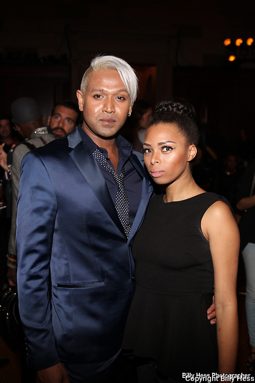 NYC celebrity stylist Mark Dealwis at the World Fashion Parade at Gotham Hall NYC