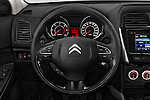 Car pictures of steering wheel view of a 2016 Citroen C4-Aircross Feel-Edition 5 Door Suv Steering Wheel