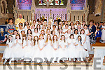 Presentation Listowel NS students received their First Holy Communion in St Michaels Church Listowel on Saturday.
