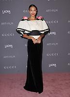 04 November  2017 - Los Angeles, California - Zoe Saldana. 2017 LACMA Art+Film Gala held at LACMA in Los Angeles. <br /> CAP/ADM/BT<br /> &copy;BT/ADM/Capital Pictures