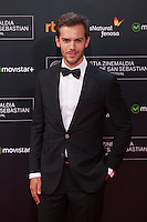 Marc Clotet poses before 63rd Donostia Zinemaldia opening ceremony (San Sebastian International Film Festival) in San Sebastian, Spain. September 18, 2015. (ALTERPHOTOS/Victor Blanco) /NortePhoto.com