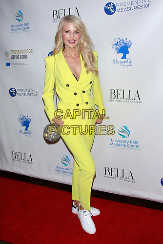 Christie Brinkley at the New York's Influencer Issue Cover Launch Party at Bagatelle in New York City on March 13, 2019. <br /> CAP/MPI99<br /> ©MPI99/Capital Pictures