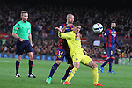 11.02.2015 Barcelona, Spain. Spanish Cup , Semi-final. Picture show Vietto in Action during game between FC Barcelona against Villareal at Camp Nou