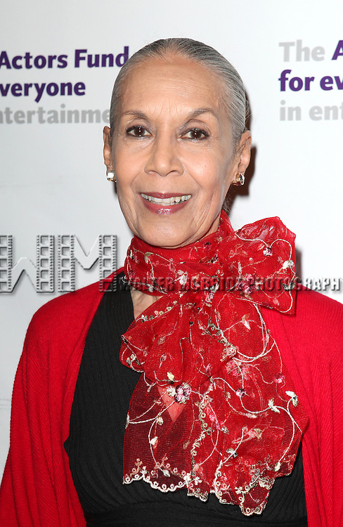 Carmen De Lavallade.attending the Actors Fund Gala honoring Harry Belafonte, Jerry Stiller, Anne Meara & David Steiner at the Mariott Marquis Hotel in New York City on 5/21/12