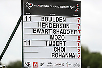 McKayson NZ Women's Golf Open, Round Two, Windross Farm Golf Course, Manukau, Auckland, New Zealand, Friday 29 September 2017.  Photo: Simon Watts/www.bwmedia.co.nz