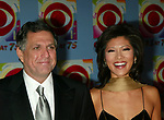 Julie Chen and Leslie Moonves attending CBS AT 75, a three hour entertainment extravaganza commemorating CBS's 75th Anniversary, which will be  broadcast live from the Hammerstein Ballroom at New York's Manhattan Center in New York City.<br />
